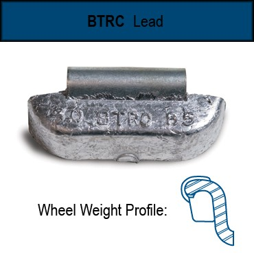 Truck Wheel Weights Btrc Style Uncoated Lead 2 To 14 Ounces